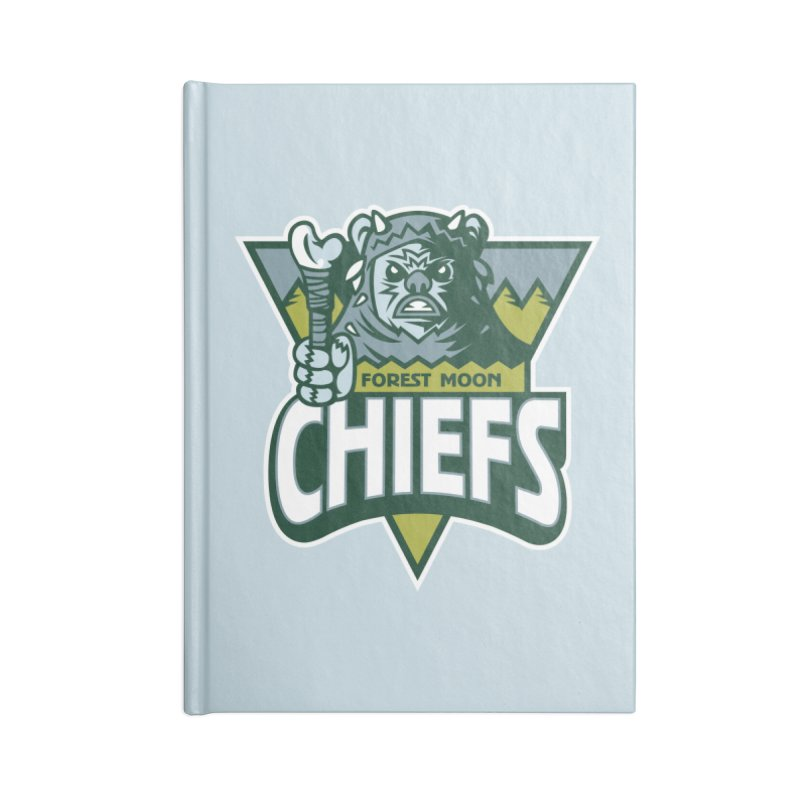 Forest Moon Chiefs Accessories Notebook by WanderingBert Shirts and stuff