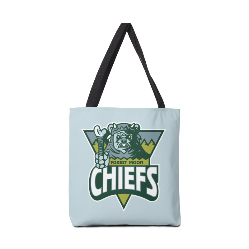 Forest Moon Chiefs Accessories Bag by WanderingBert Shirts and stuff