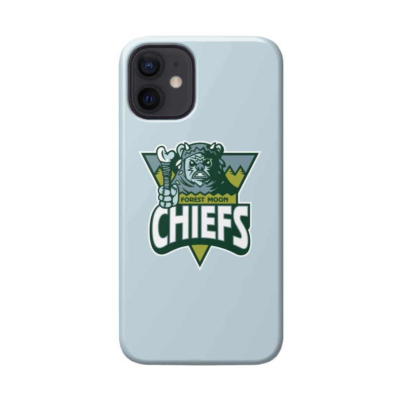 Forest Moon Chiefs Accessories Phone Case by WanderingBert Shirts and stuff