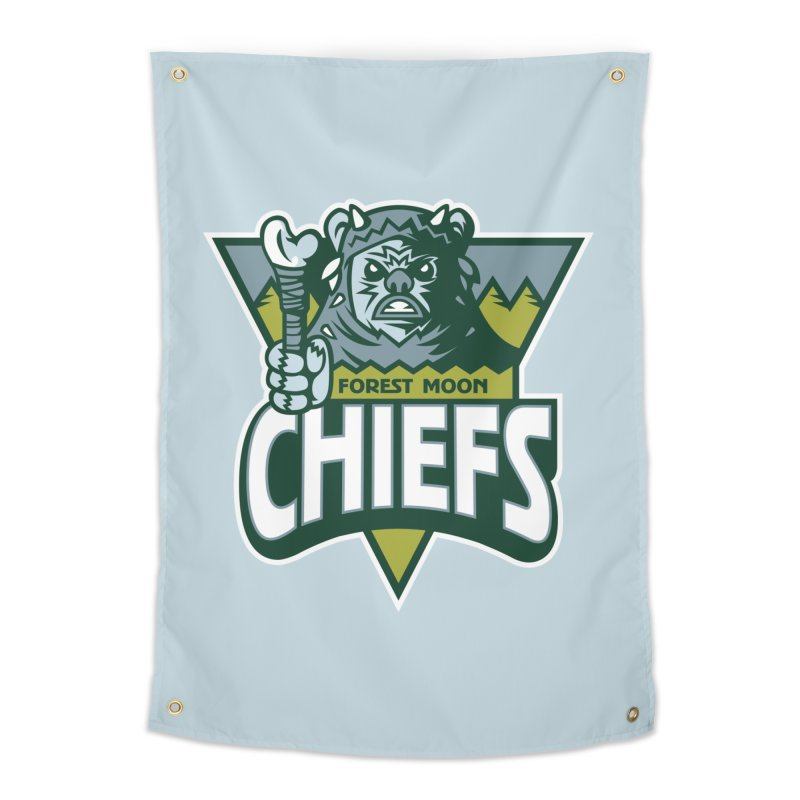 Forest Moon Chiefs Home Tapestry by WanderingBert Shirts and stuff