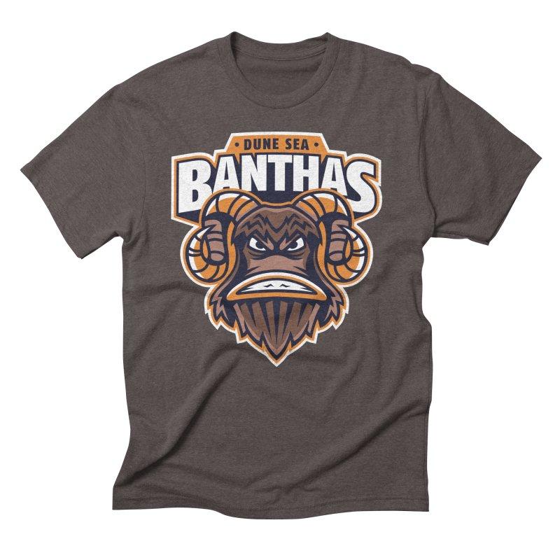 Dune Sea Banthas Men's Triblend T-Shirt by WanderingBert Shirts and stuff
