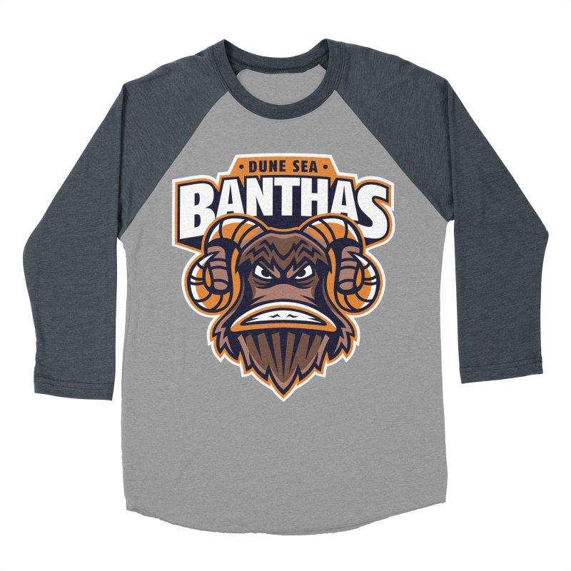 Dune Sea Banthas Men's Baseball Triblend T-Shirt by WanderingBert Shirts and stuff