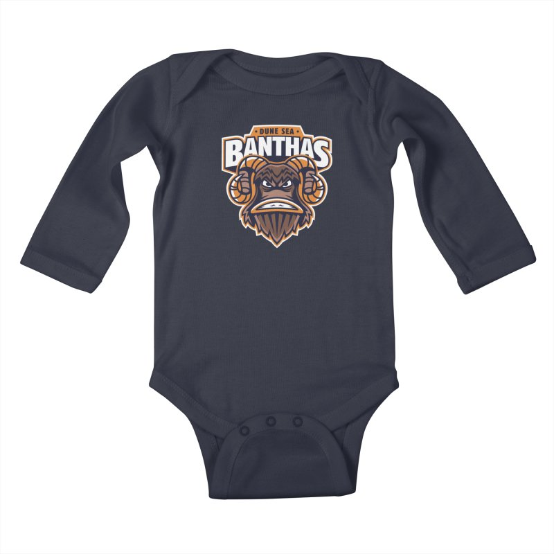 Dune Sea Banthas Kids Baby Longsleeve Bodysuit by WanderingBert Shirts and stuff