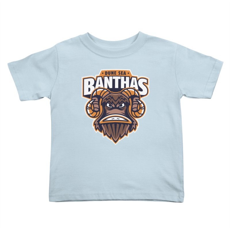 Dune Sea Banthas Kids Toddler T-Shirt by WanderingBert Shirts and stuff