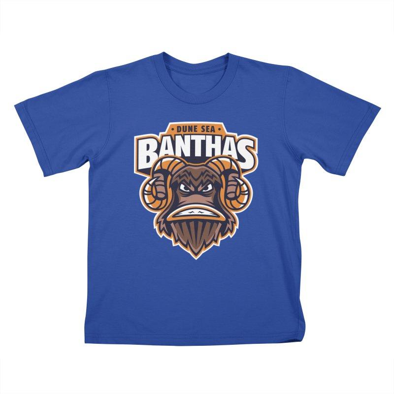 Dune Sea Banthas Kids T-Shirt by WanderingBert Shirts and stuff