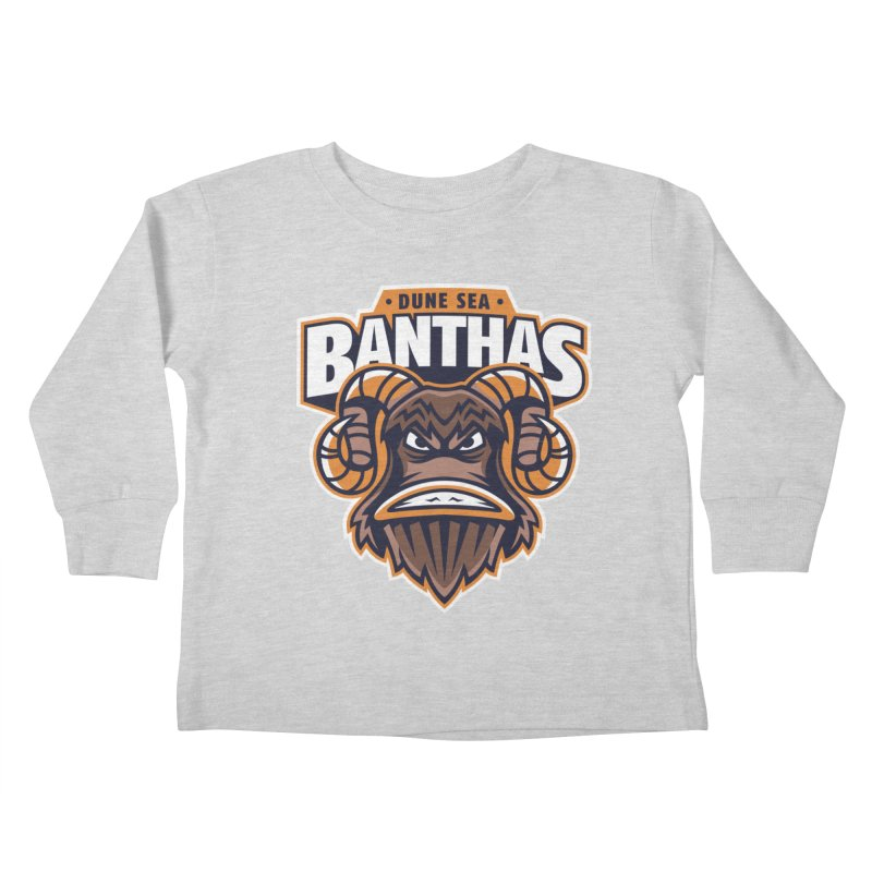 Dune Sea Banthas Kids Toddler Longsleeve T-Shirt by WanderingBert Shirts and stuff