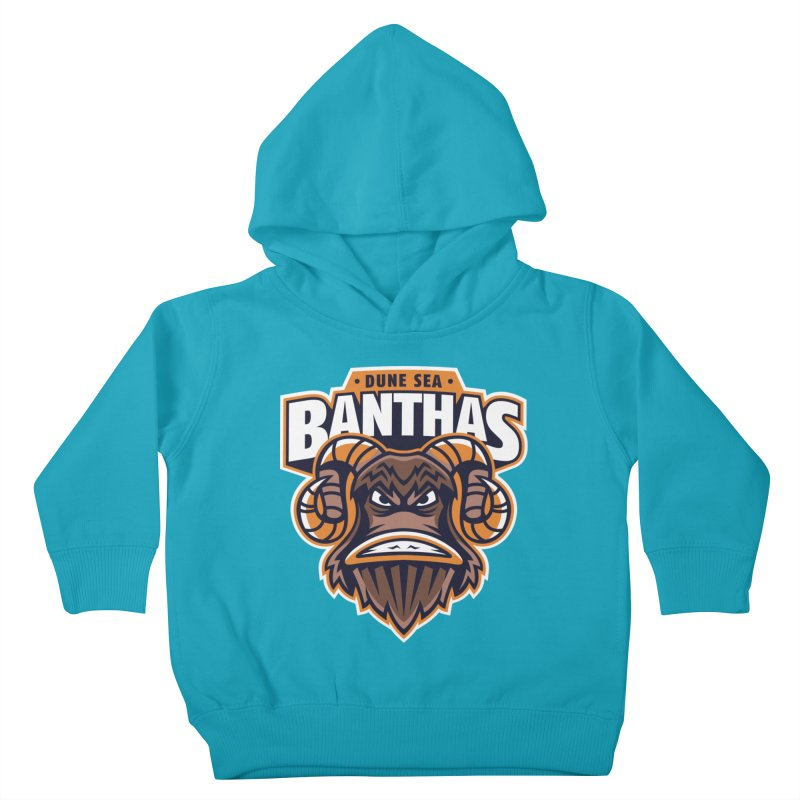 Dune Sea Banthas Kids Toddler Pullover Hoody by WanderingBert Shirts and stuff