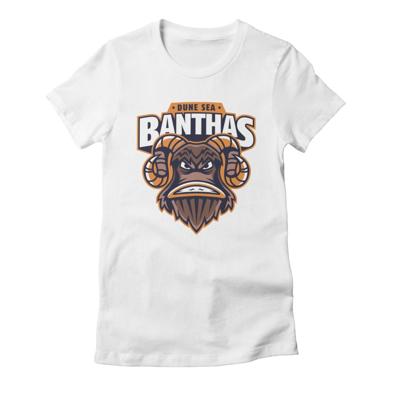 Dune Sea Banthas Women's Fitted T-Shirt by WanderingBert Shirts and stuff