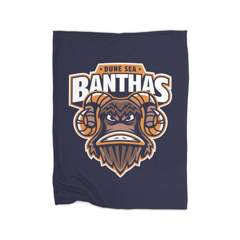 Dune Sea Banthas Home Blanket by WanderingBert Shirts and stuff