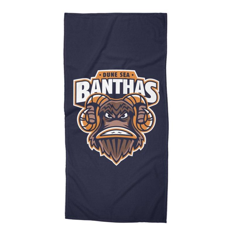 Dune Sea Banthas Accessories Beach Towel by WanderingBert Shirts and stuff