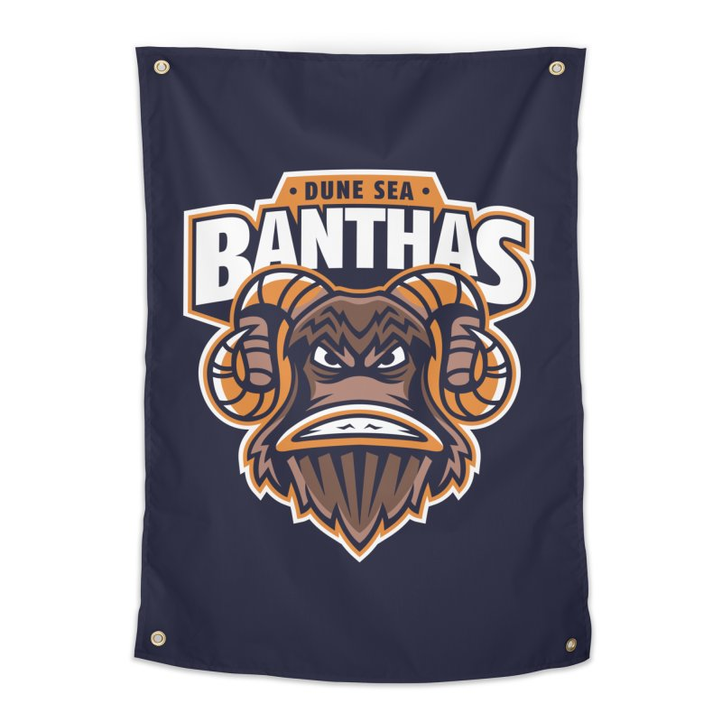 Dune Sea Banthas Home Tapestry by WanderingBert Shirts and stuff