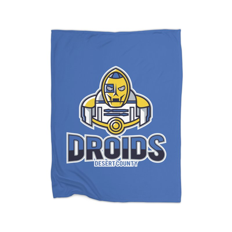 Desert County Droids Home Blanket by WanderingBert Shirts and stuff