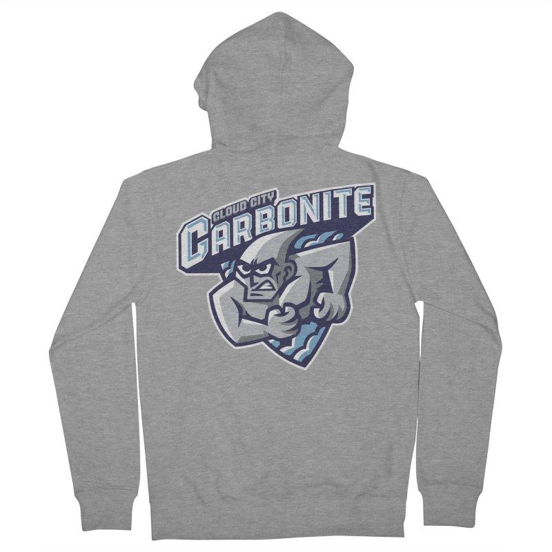 Cloud City Carbonite Men's Zip-Up Hoody by WanderingBert Shirts and stuff