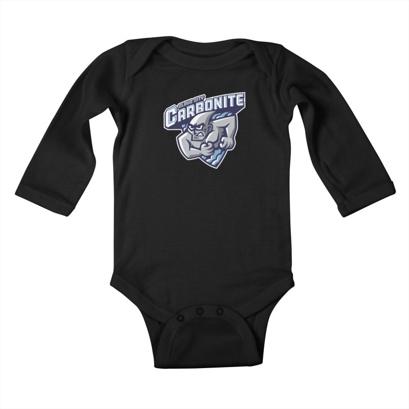 Cloud City Carbonite Kids Baby Longsleeve Bodysuit by WanderingBert Shirts and stuff