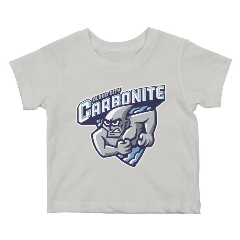 Cloud City Carbonite Kids Baby T-Shirt by WanderingBert Shirts and stuff