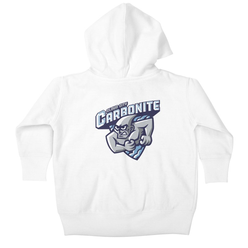 Cloud City Carbonite Kids Baby Zip-Up Hoody by WanderingBert Shirts and stuff