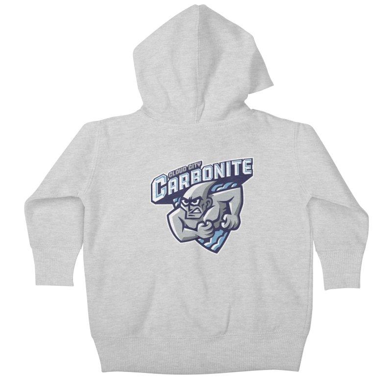 Cloud City Carbonite Kids Baby Zip-Up Hoody by WanderingBert Shirts and stuff