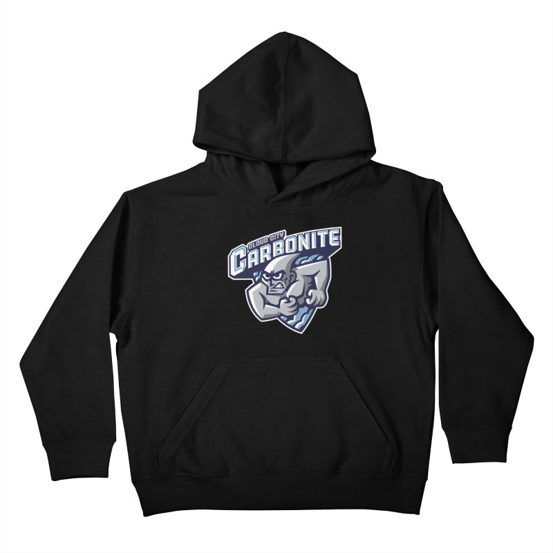 Cloud City Carbonite Kids Pullover Hoody by WanderingBert Shirts and stuff