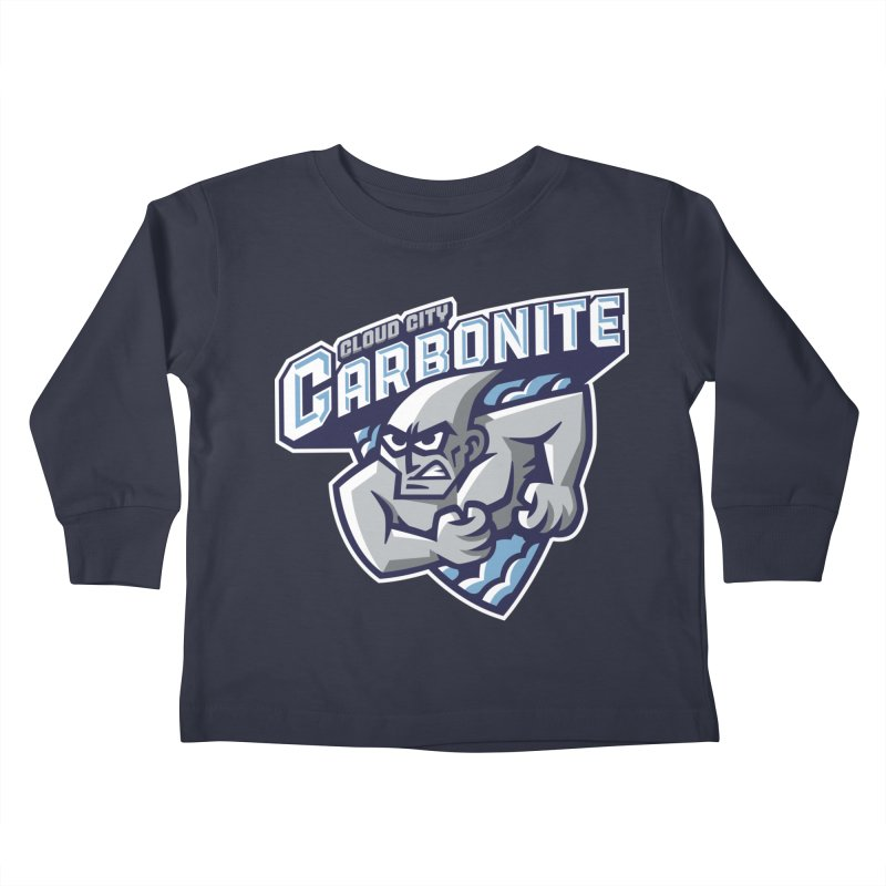 Cloud City Carbonite Kids Toddler Longsleeve T-Shirt by WanderingBert Shirts and stuff
