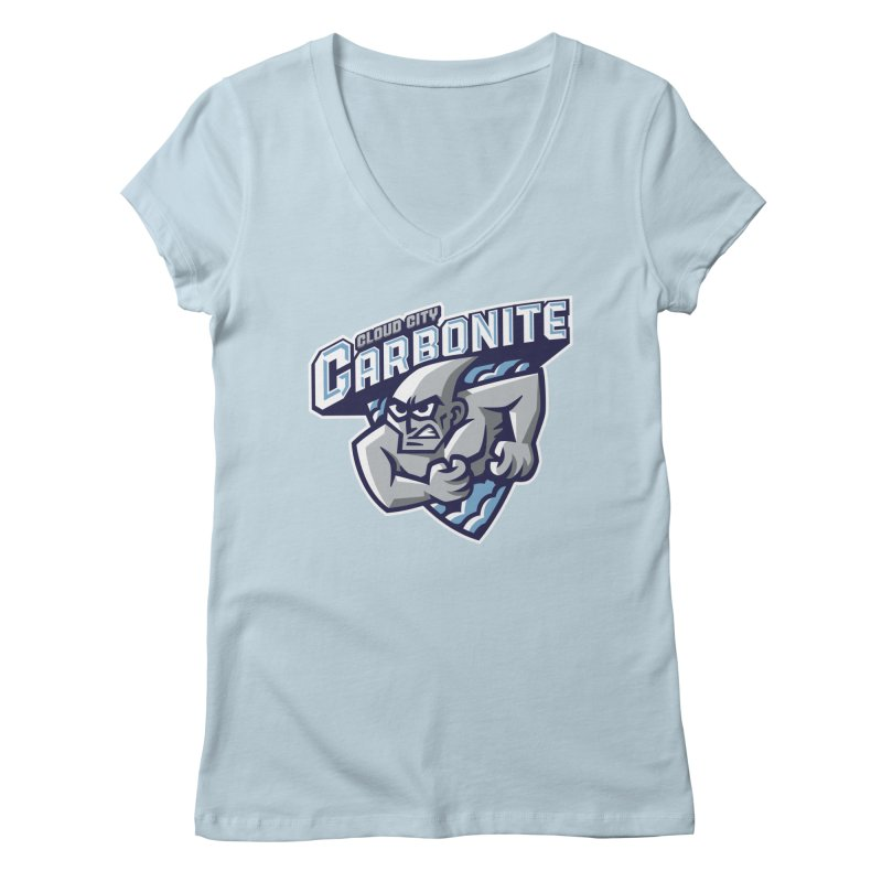 Cloud City Carbonite Women's V-Neck by WanderingBert Shirts and stuff