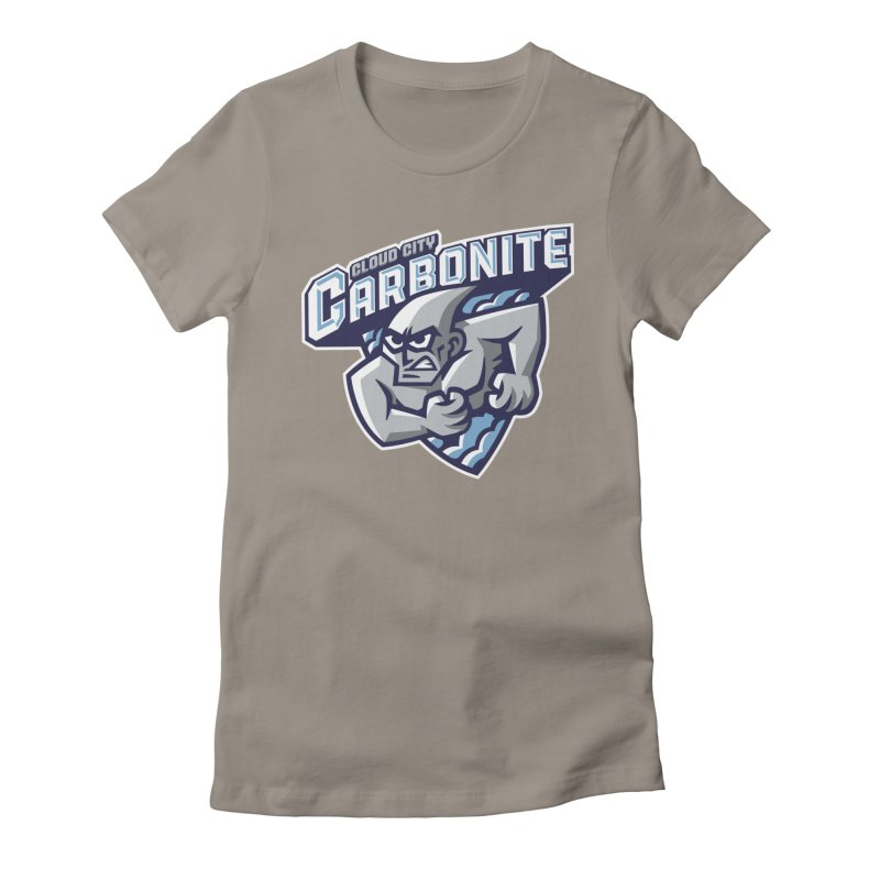 Cloud City Carbonite Women's Fitted T-Shirt by WanderingBert Shirts and stuff