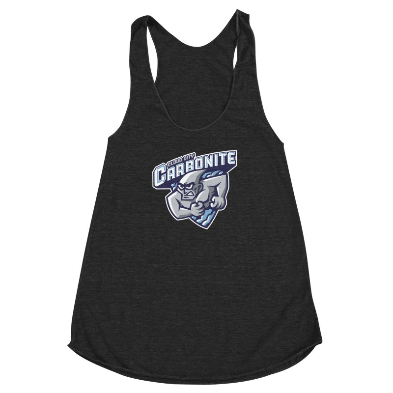 Cloud City Carbonite Women's Racerback Triblend Tank by WanderingBert Shirts and stuff
