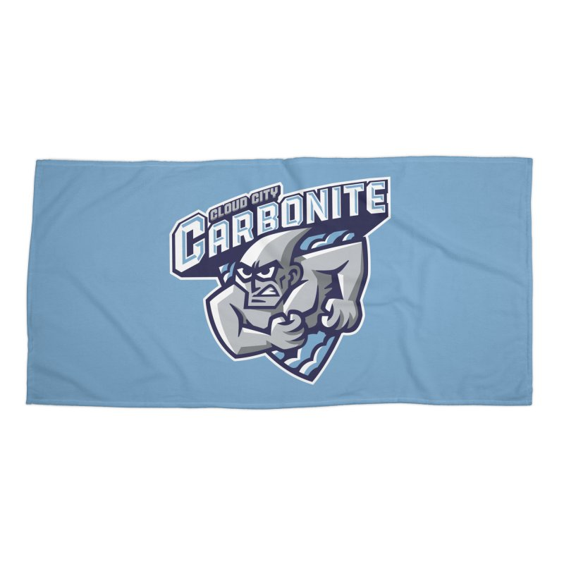 Cloud City Carbonite Accessories Beach Towel by WanderingBert Shirts and stuff