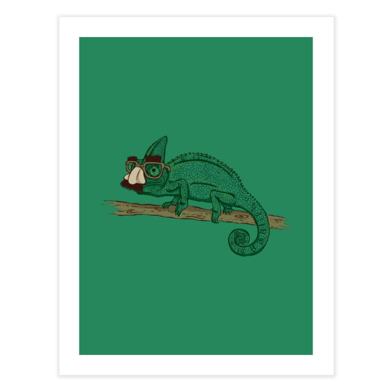 Master of Disguise Home Fine Art Print by WanderingBert Shirts and stuff