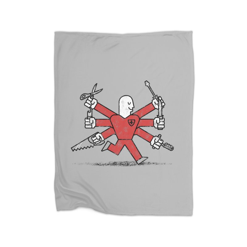 The Most Useful Man in Switzerland Home Blanket by WanderingBert Shirts and stuff