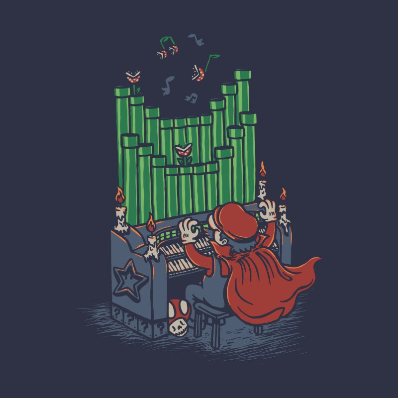 The Plumber of the Opera None  by WanderingBert Shirts and stuff