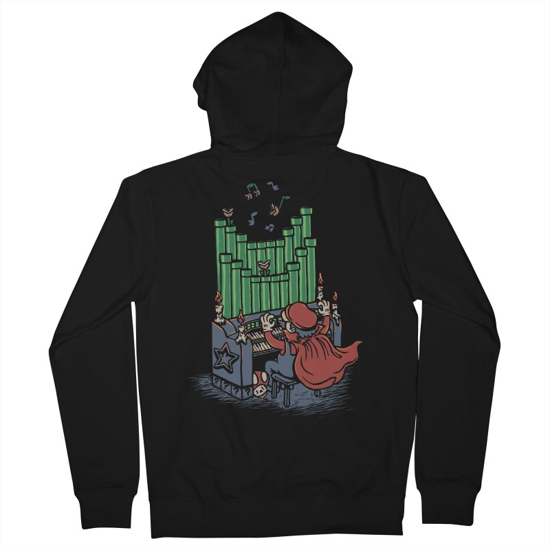 The Plumber of the Opera Women's Zip-Up Hoody by WanderingBert Shirts and stuff