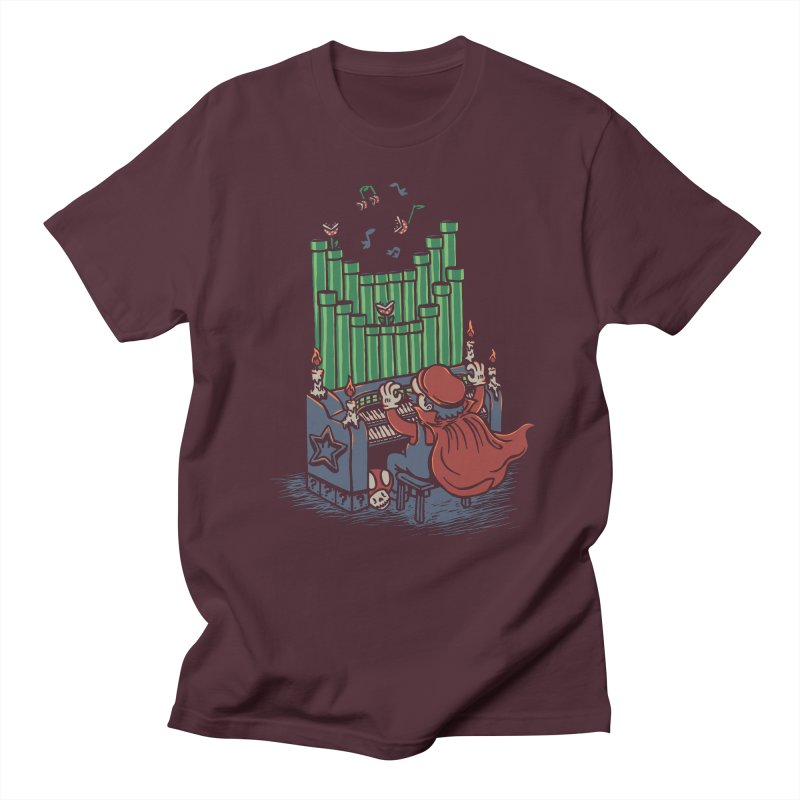 The Plumber of the Opera Women's Unisex T-Shirt by WanderingBert Shirts and stuff