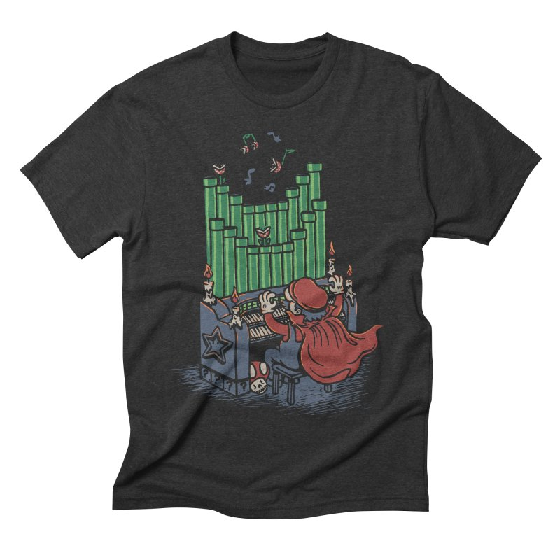The Plumber of the Opera Men's Triblend T-shirt by WanderingBert Shirts and stuff