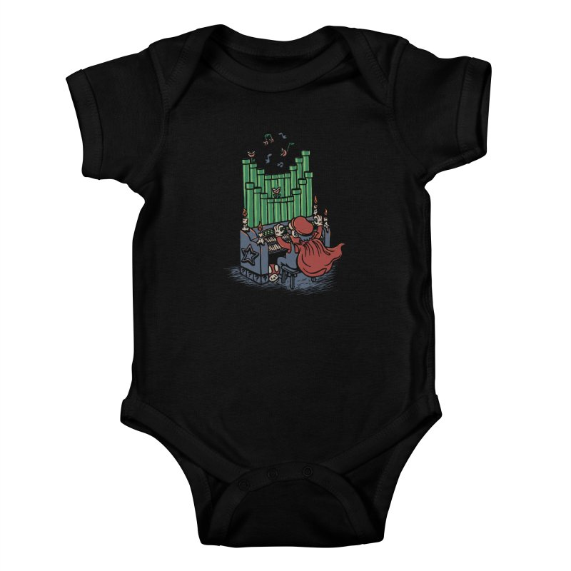 The Plumber of the Opera Kids Baby Bodysuit by WanderingBert Shirts and stuff