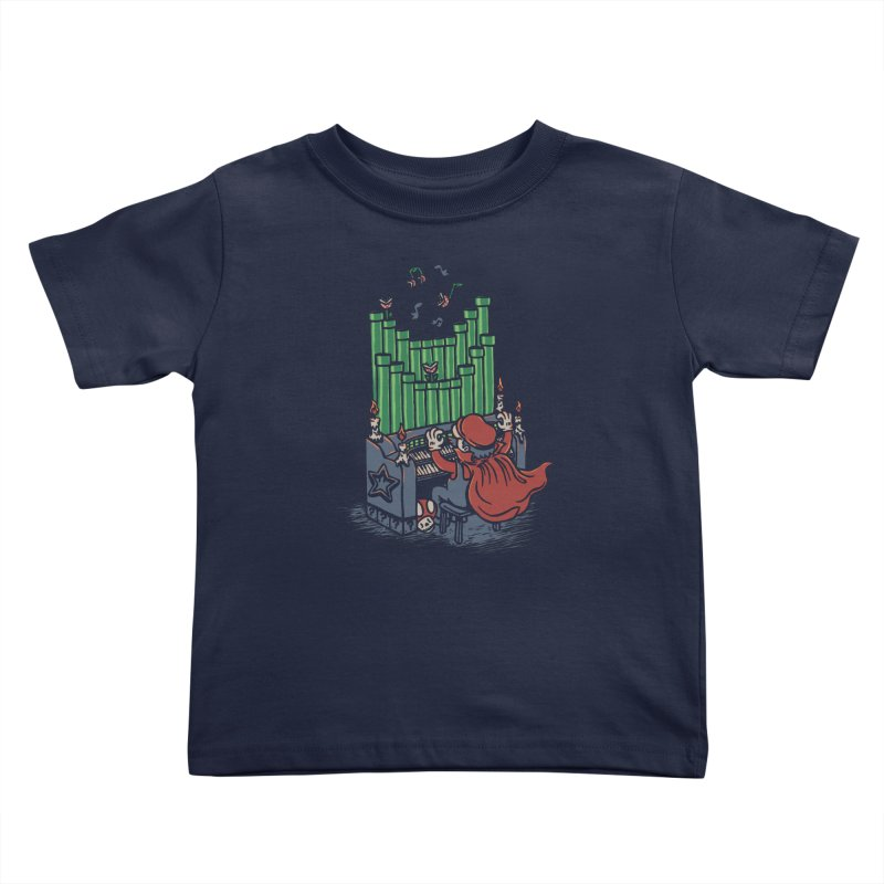 The Plumber of the Opera Kids Toddler T-Shirt by WanderingBert Shirts and stuff