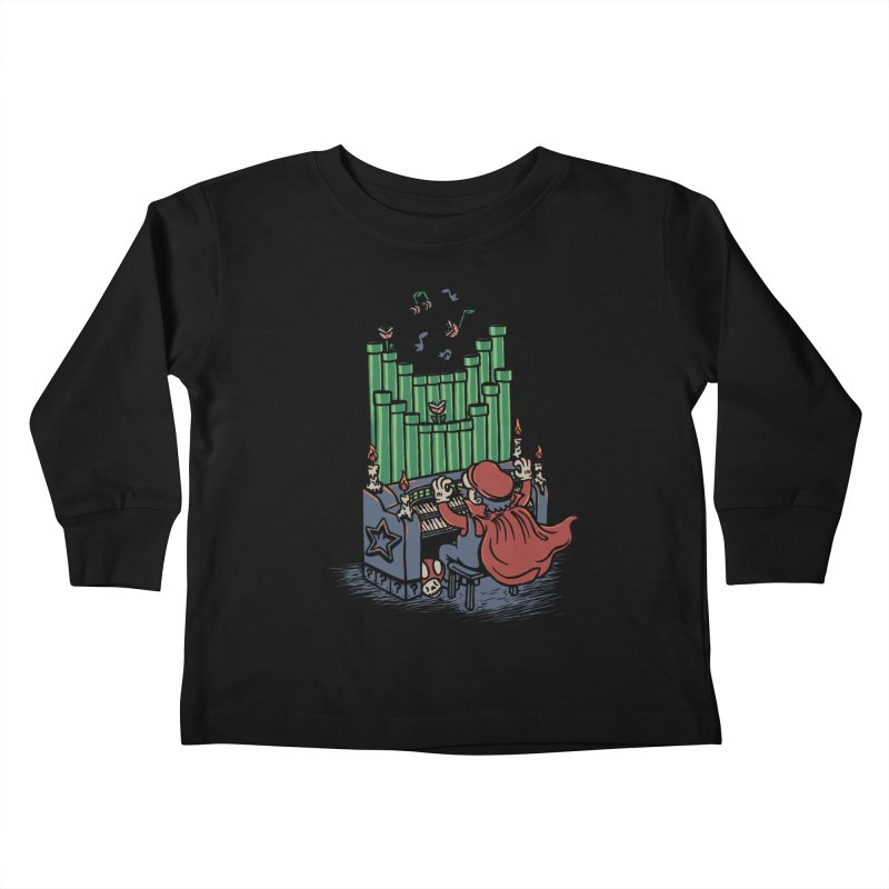 The Plumber of the Opera Kids Toddler Longsleeve T-Shirt by WanderingBert Shirts and stuff