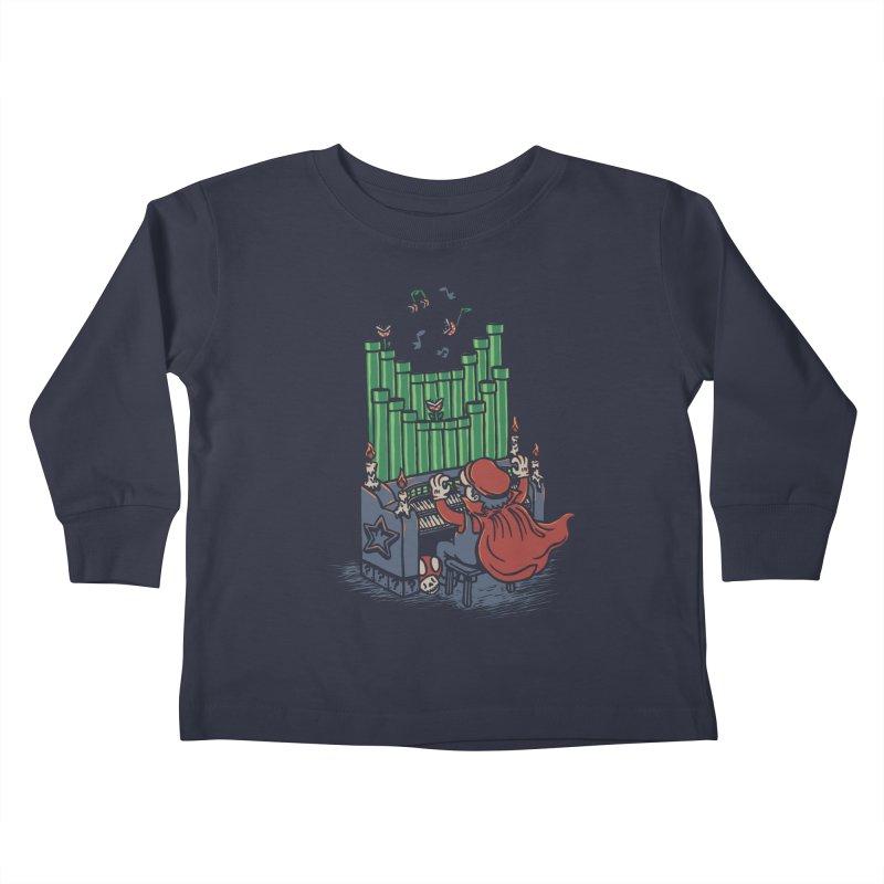 The Plumber of the Opera Kids Toddler Longsleeve T-Shirt by WanderingBert Shirts and stuff