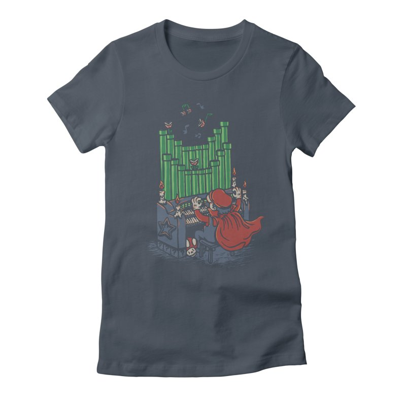The Plumber of the Opera Women's Fitted T-Shirt by WanderingBert Shirts and stuff