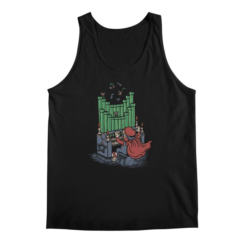 The Plumber of the Opera Men's Tank by WanderingBert Shirts and stuff