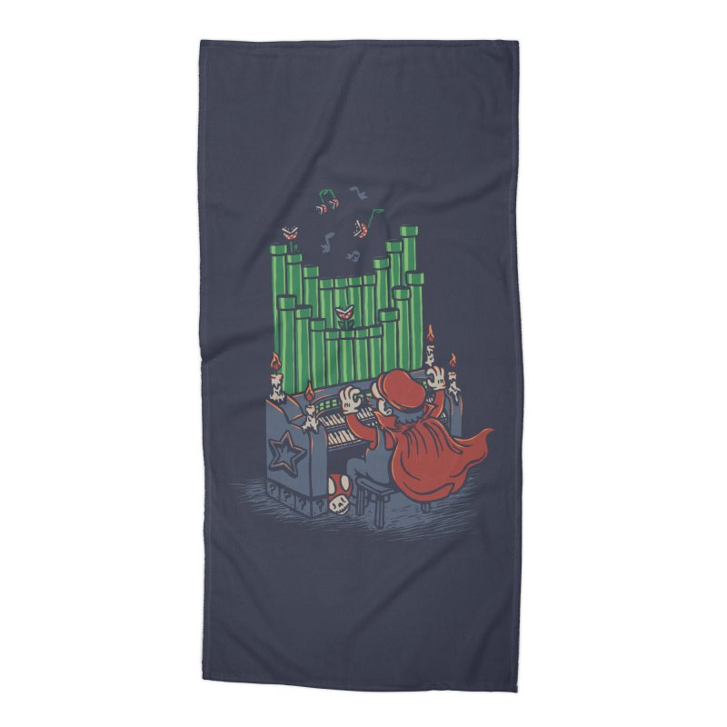 The Plumber of the Opera Accessories Beach Towel by WanderingBert Shirts and stuff