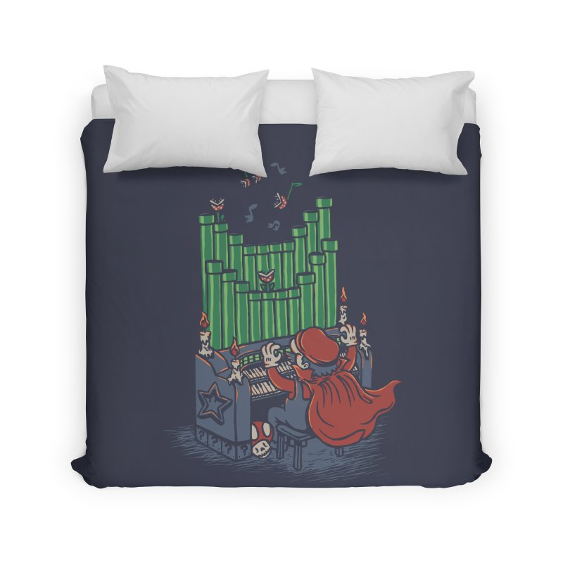 The Plumber of the Opera Home Duvet by WanderingBert Shirts and stuff