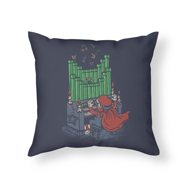 The Plumber of the Opera Home Throw Pillow by WanderingBert Shirts and stuff
