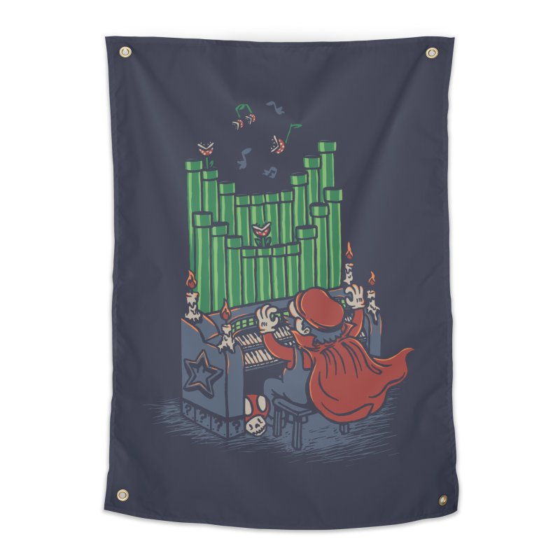 The Plumber of the Opera Home Tapestry by WanderingBert Shirts and stuff