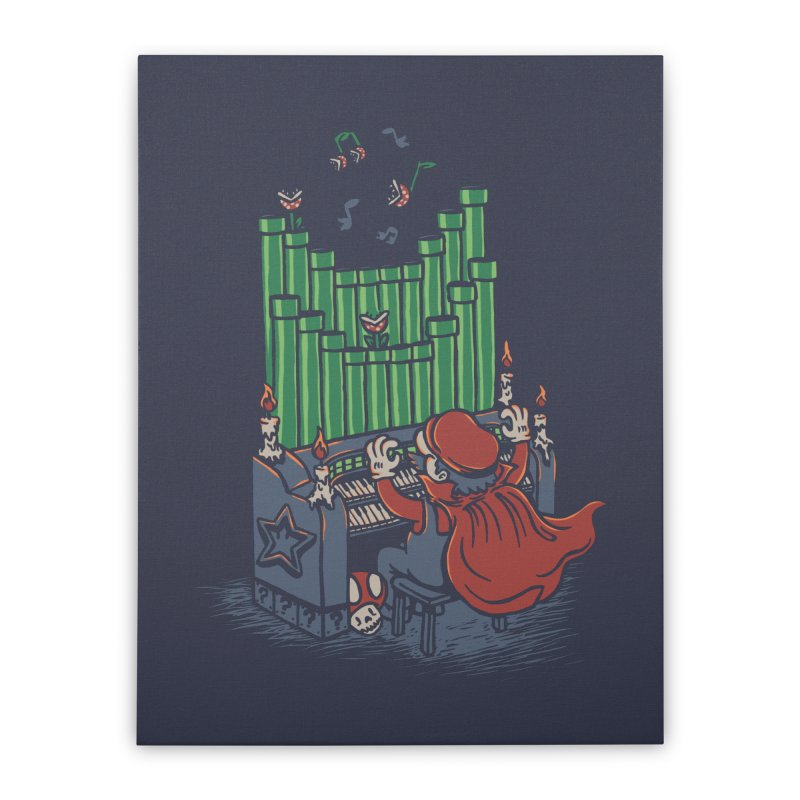 The Plumber of the Opera Home Stretched Canvas by WanderingBert Shirts and stuff