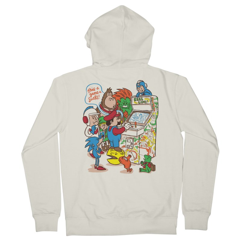 This Game Sucks Women's Zip-Up Hoody by WanderingBert Shirts and stuff