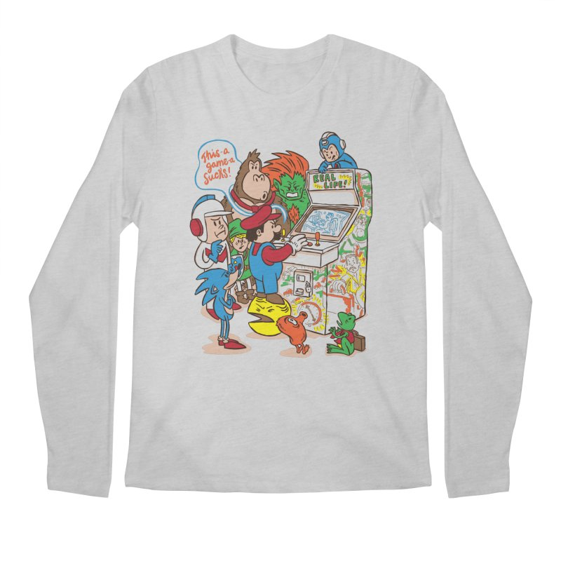 This Game Sucks Men's Longsleeve T-Shirt by WanderingBert Shirts and stuff