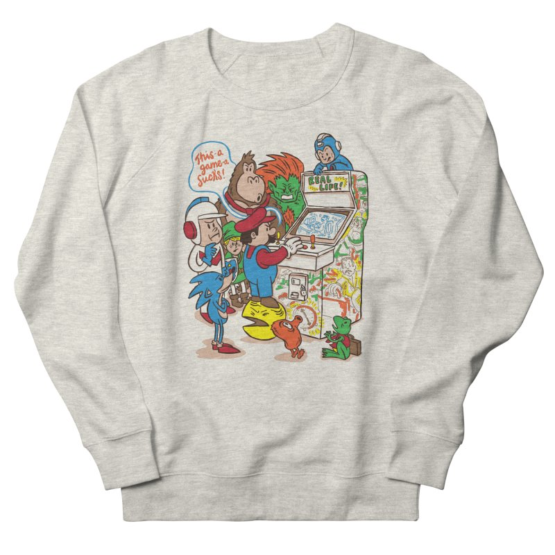 This Game Sucks Men's Sweatshirt by WanderingBert Shirts and stuff