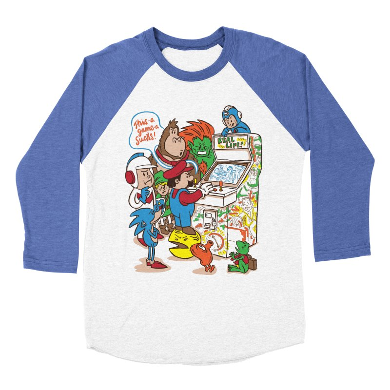 This Game Sucks Women's Baseball Triblend T-Shirt by WanderingBert Shirts and stuff