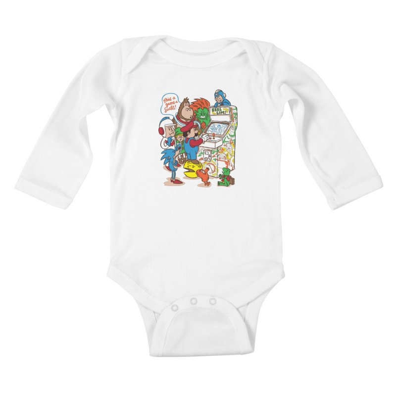 This Game Sucks Kids Baby Longsleeve Bodysuit by WanderingBert Shirts and stuff