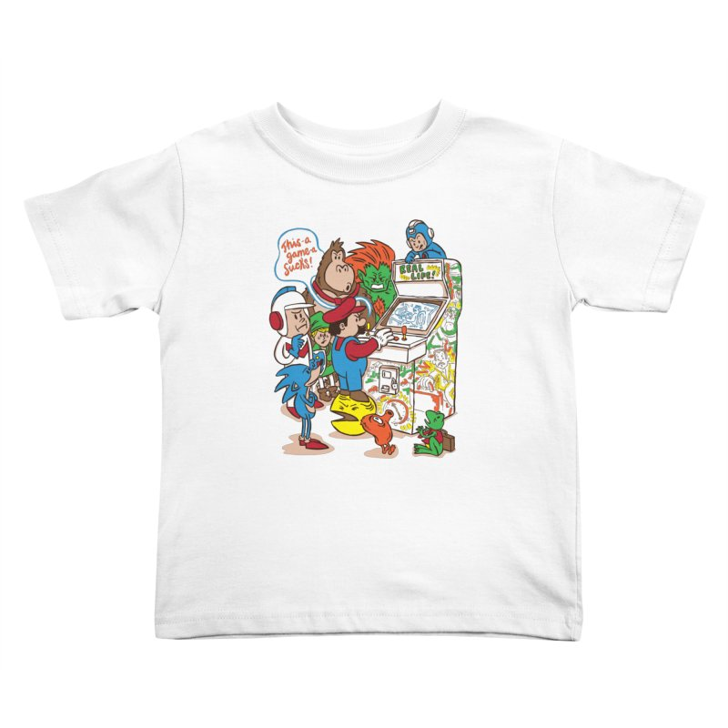 This Game Sucks Kids Toddler T-Shirt by WanderingBert Shirts and stuff